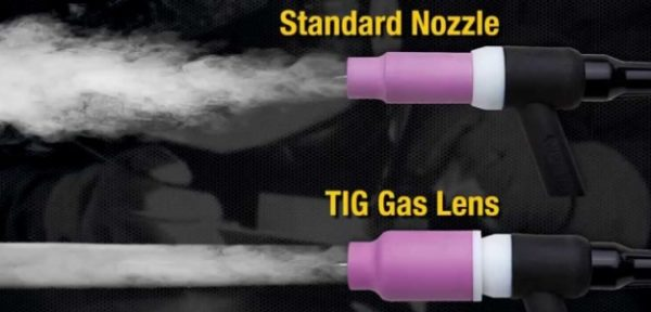 Большая газовая линза 2,4 мм