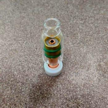 стеклянная газовая линза